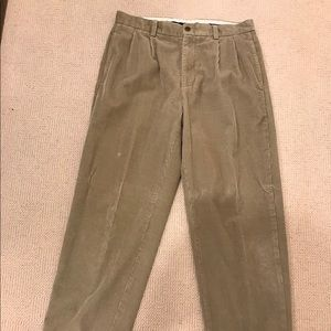Brooks Brothers Corduroy Pants with Cuff